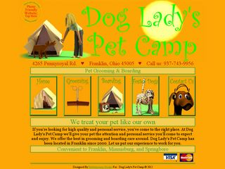 Dog Ladys Pet Camp Franklin
