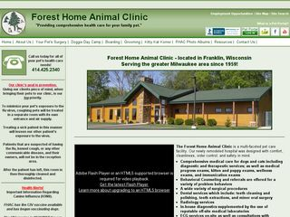 Forest Home Animal Clinic | Boarding