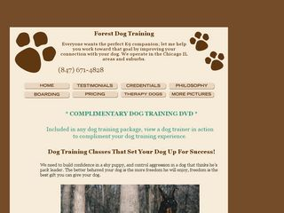 Forest Dog Training Franklin Park