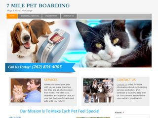 7 Mile Pet Boarding Grooming | Boarding