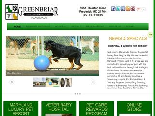 Greenbriar Veterinary Hospital & Luxury Pet Resort Frederick