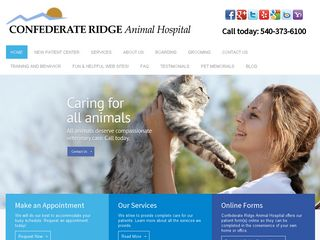 Confederate Ridge Animal Hospital Fredericksburg