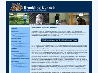 Brookline Kennels | Boarding
