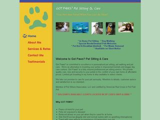 Got Paws? Pet Sitting  Care | Boarding