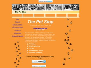 The Pet Stop | Boarding