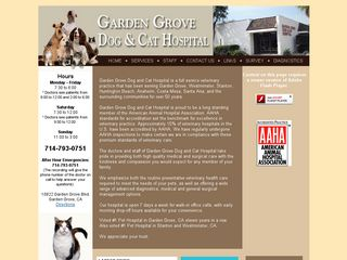 Garden Grove Dog  Cat Hospital | Boarding
