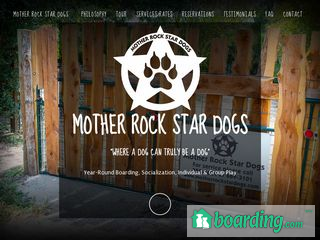 Mother Rock Star Dogs | Boarding