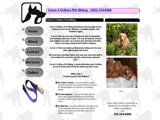 Cares 4 Critters Pet Sitting | Boarding