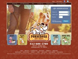 Ponderosa Pet Resort | Boarding