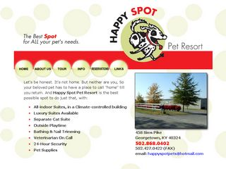 Happy Spot Pet Resort | Boarding