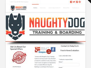 Naughty Dog Training and Boarding | Boarding