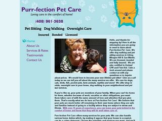Purr fection Pet Care Gilroy