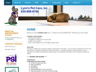 Lynns Pet Care Inc | Boarding