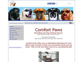 Comfort Paws | Boarding