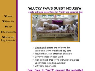 Lucky Paws Guest House | Boarding