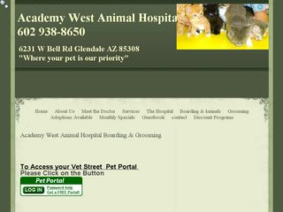 Academy West Animal Hospital | Boarding