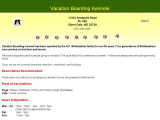Vacation Boarding Kennels Glenn Dale