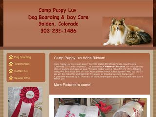 MCCay Dovie CEO Camp Puppy Luv | Boarding