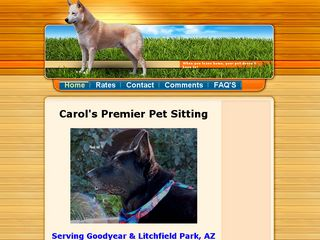 Carols Premier Pet Sitting | Boarding