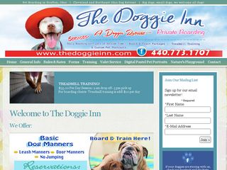 Doggie Inn | Boarding
