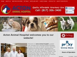Acton Animal Hospital Granbury
