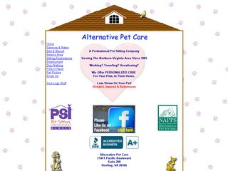 Alternative Pet Care | Boarding