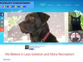 Moonlight Shadow Ranch Pet Resort  Day Care | Boarding