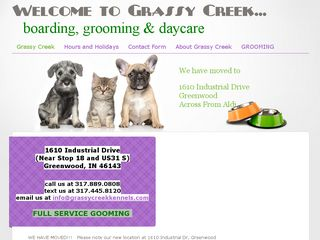 Grassy Creek Kennels | Boarding