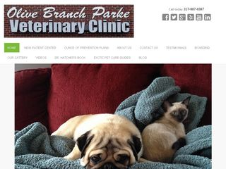 Olive Branch Parke Veterinary Clinic | Boarding