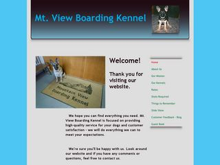 Mountain View Boarding Kennel | Boarding