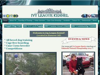 Ivy League Kennel (Dog Boarding and Training) | Boarding
