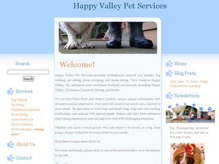Happy Valley Pet Services | Boarding