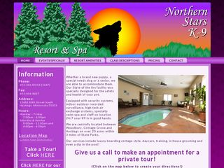 Northern Stars K9 Resort  Spa Hastings
