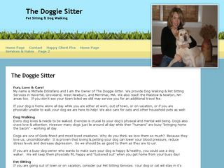 The Doggie Sitter | Boarding