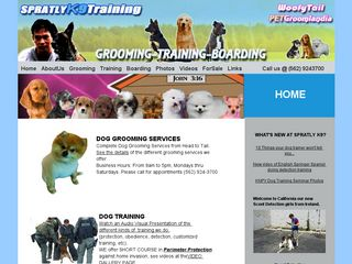 Spratly K9 Training Center | Boarding