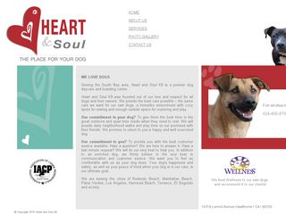 Heart and Soul K9 | Boarding