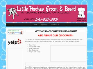 Photo of Little Pooches Groom Board in Hayward