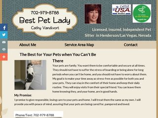 Best Pet Lady | Boarding