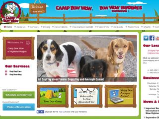 Camp Bow Wow Dog Boarding Highland Heights Highland Heights