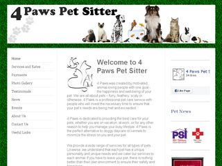 4 Paws Pet Sitter | Boarding
