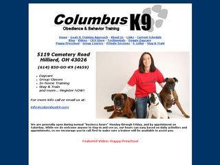 Columbus K9 LLC | Boarding
