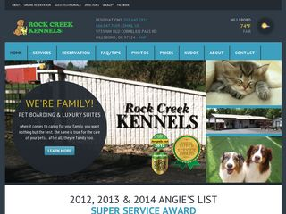 Rock Creek Kennels | Boarding