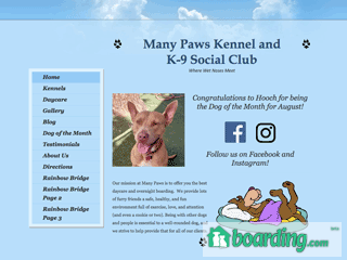 Many Paws kennels and k-9 Social club hillsboro