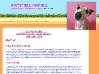 Roycefield Kennels | Boarding