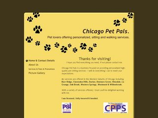 Chicago Pet Pals | Boarding