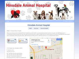 Hinsdale Animal Hospital PC Hinsdale