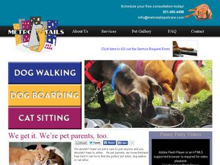 Metro Tails Pet Care | Boarding