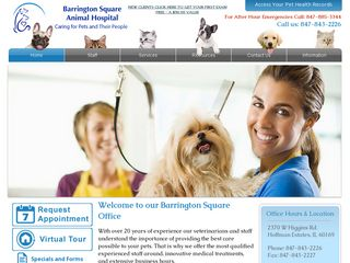 Barrington Square Animal Hospital Hoffman Estates