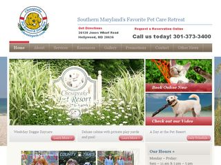 Chesapeake Pet Resort | Boarding