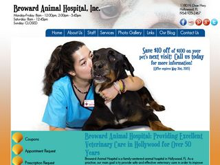 Broward Animal Hospital Hollywood